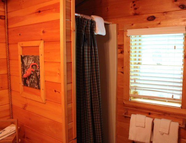 Iron Ring Cabin Bathroom 1