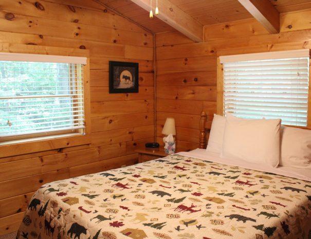 Iron Ring Cabin Bedroom 1