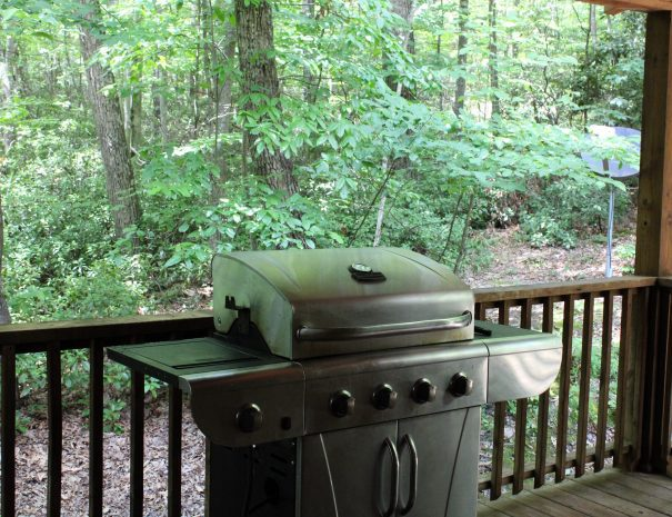 Iron Ring Cabin Grill on Deck
