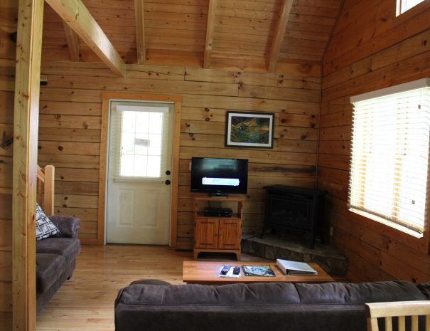 Iron Ring Cabin Living Room