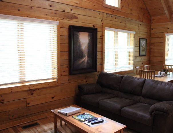 Iron Ring Cabin Living Room Sofa