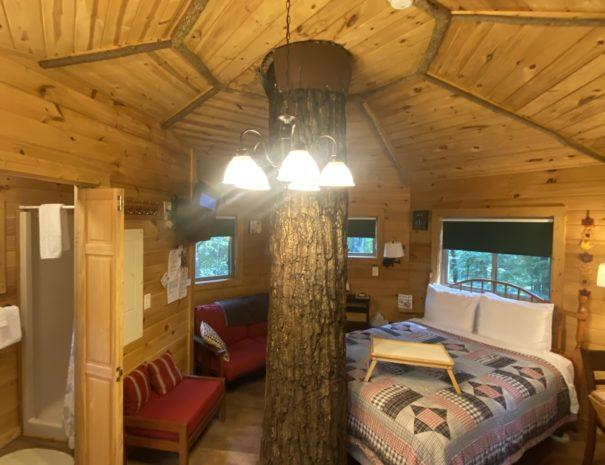 Holly Rock Treehouse Inside