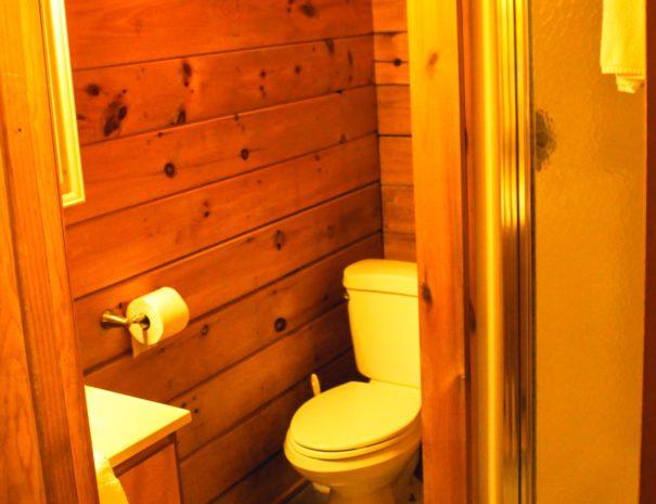 Almost Heaven Bathroom