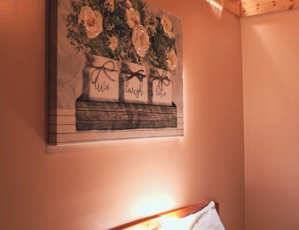 Sugar Shack Queen Bed & Sky Light