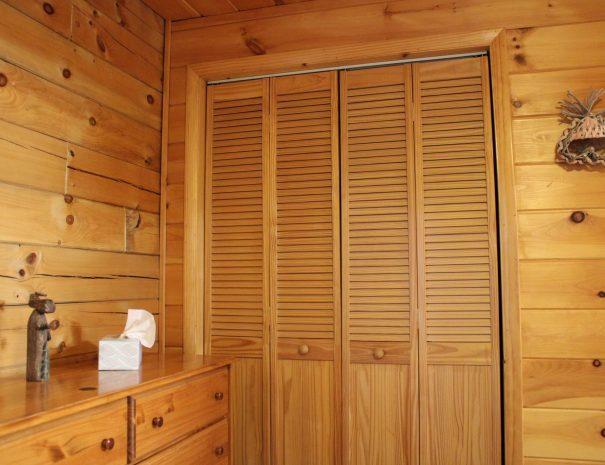 Lost Paddle Cabin Closet