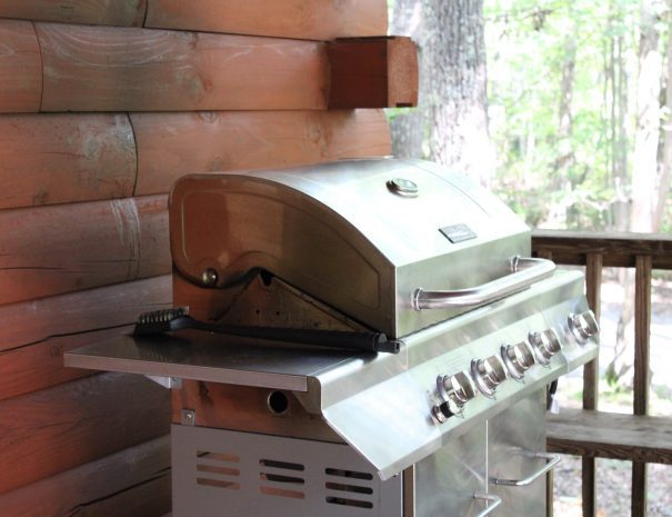 Lost Paddle Cabin Grill on Deck
