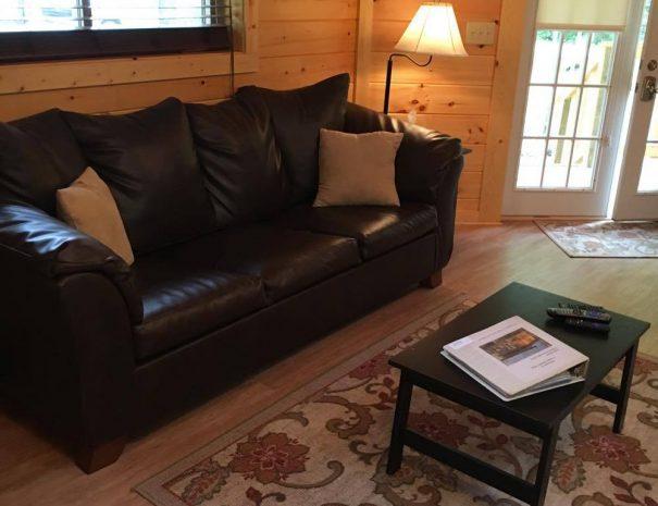 Love Shack Yurt Cabin Living Room