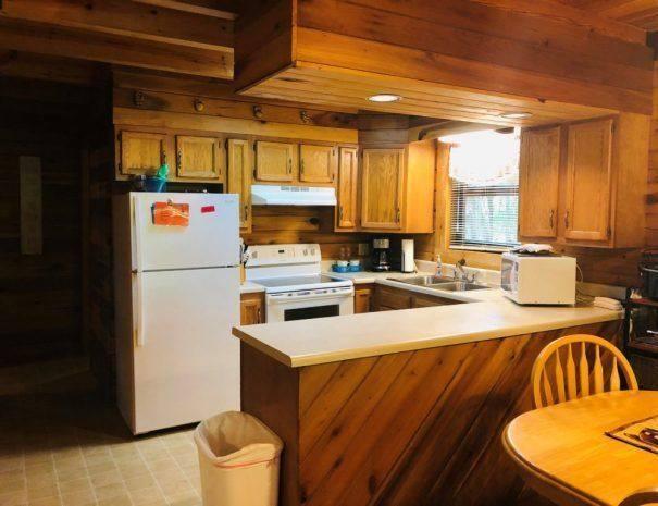 Spencer Cabin Kitchen