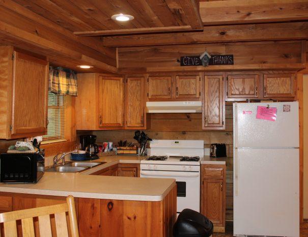 Appalachian Cabin Kitchen