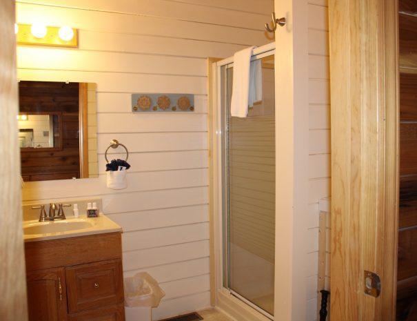Appalachian Cabin Bathroom