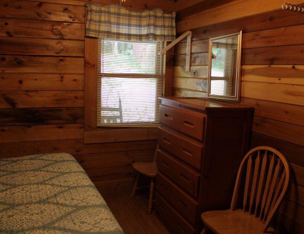 Cherokee Cabin Bedroom