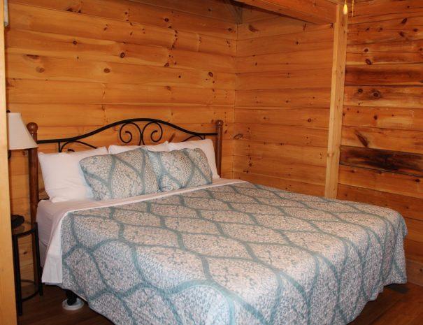 Cherokee Cabin King Bedroom