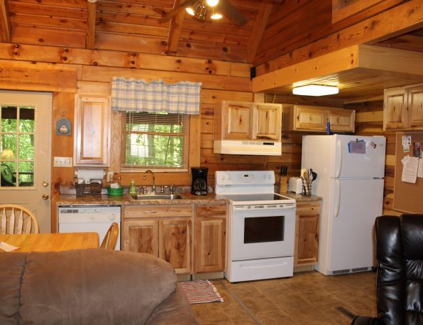 Cherokee Cabin Kitchen 1