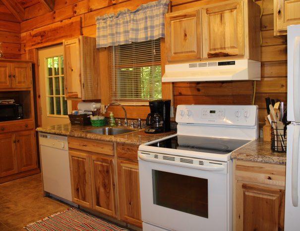 Cherokee Cabin Kitchen