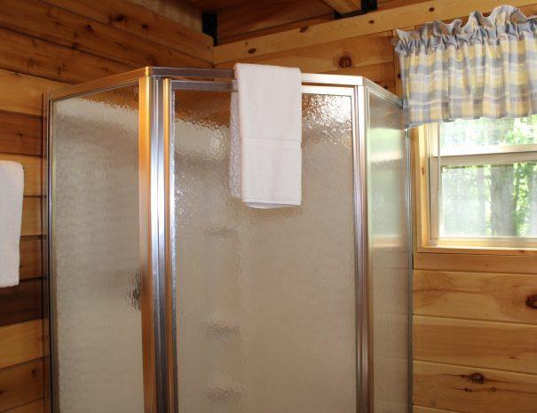 Cherokee Cabin Bathroom Shower