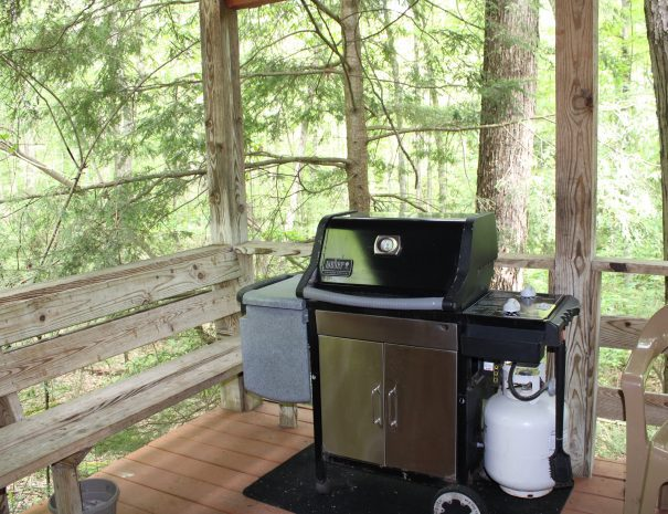 Mountaineer Cabin Grill on the Deck