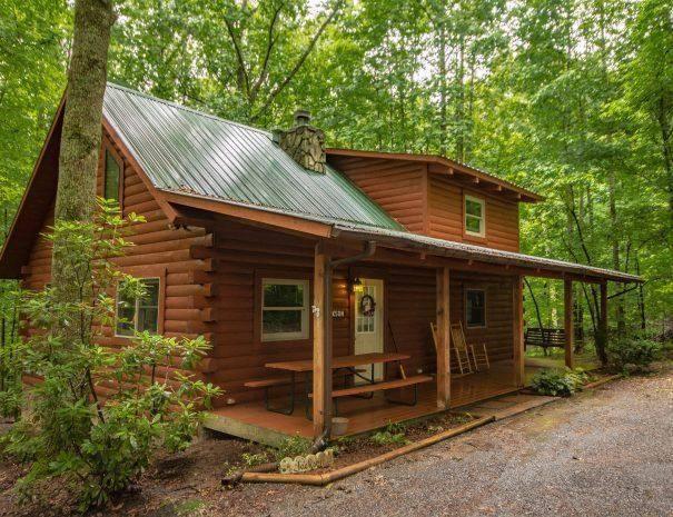 Jackson Cabin Outside