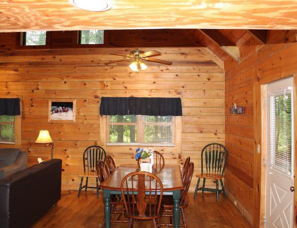 Jackson Cabin Dining Room