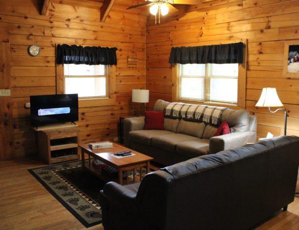 Jackson Cabin Living Room