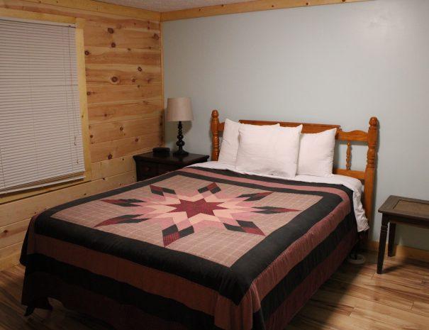 Pillow Rock Cabin Basement Bedroom