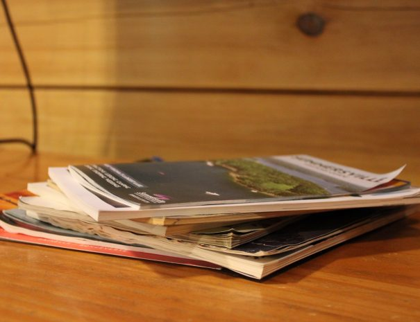 Pillow Rock Cabin Magazines
