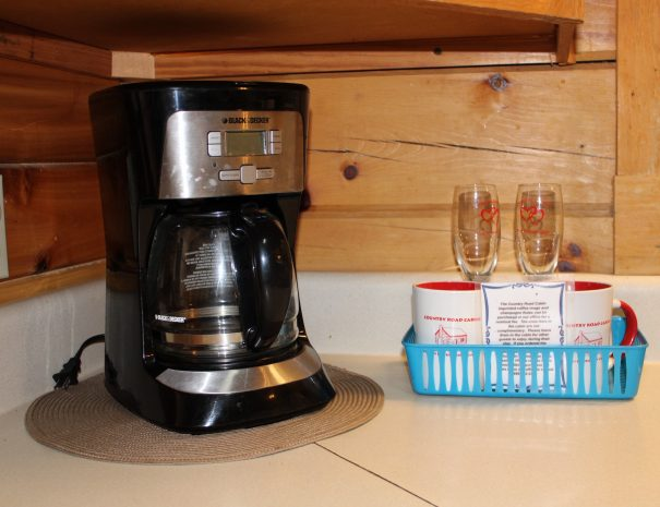 Spencer Cabin Kitchen Coffee Maker