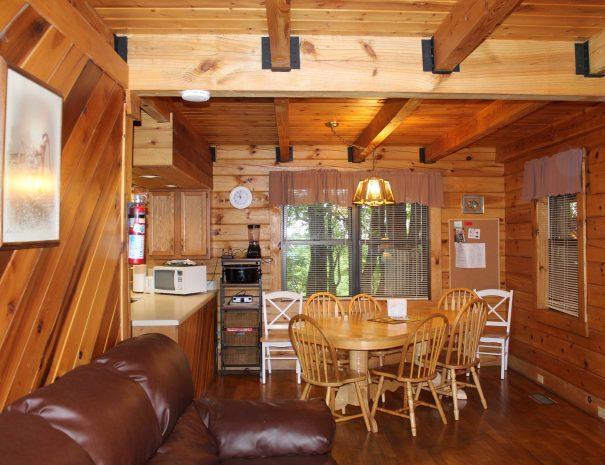 Spencer Cabin Dining Room