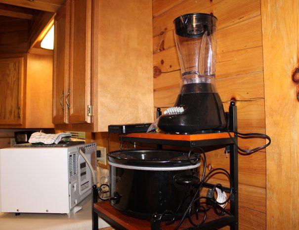 Spencer Cabin Kitchen Appliances