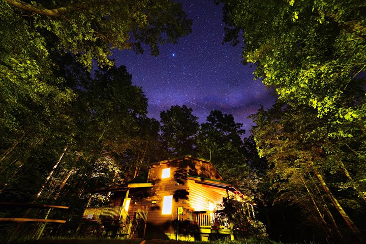 Surprise Cabin at Night