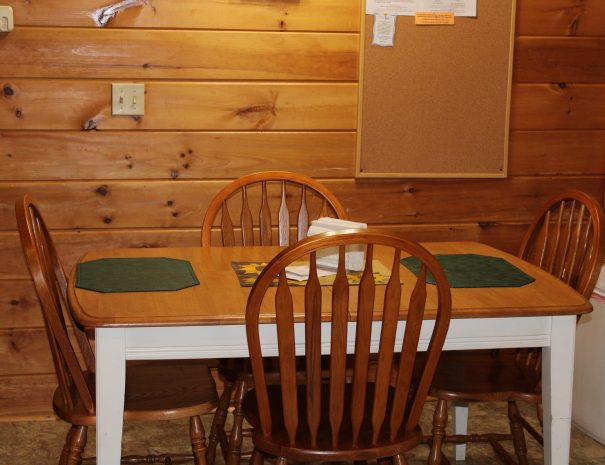 West Virginian Cabin Dining Table 1