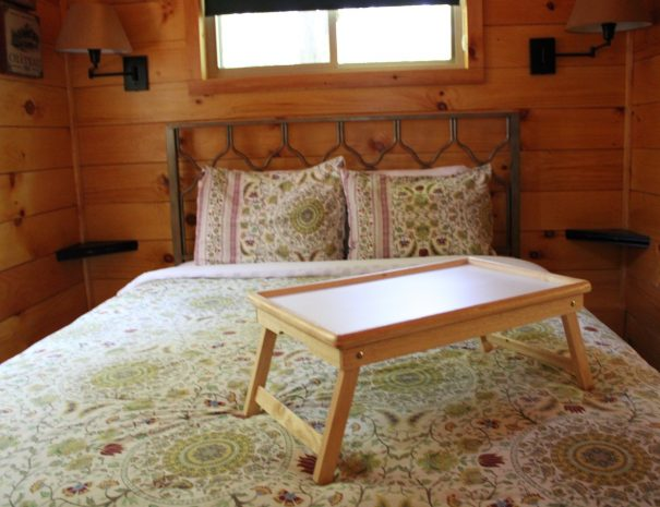 Tuscany Tree House Cabin Bedroom 1