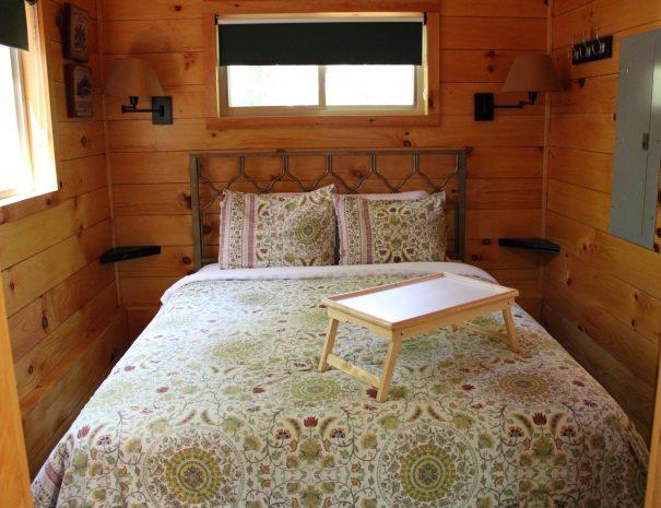 Tuscany Tree House Cabin Bedroom