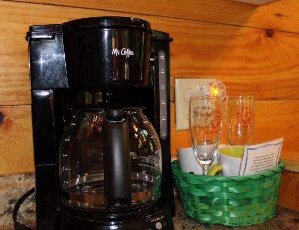 Tuscany Tree House Cabin Coffee Maker
