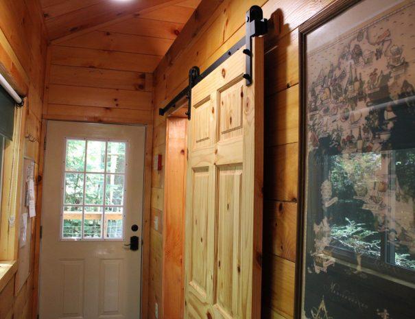 Tuscany Tree House Cabin Entryway
