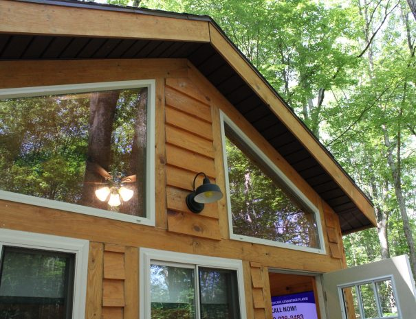 Tuscany Tree House Cabin Roof