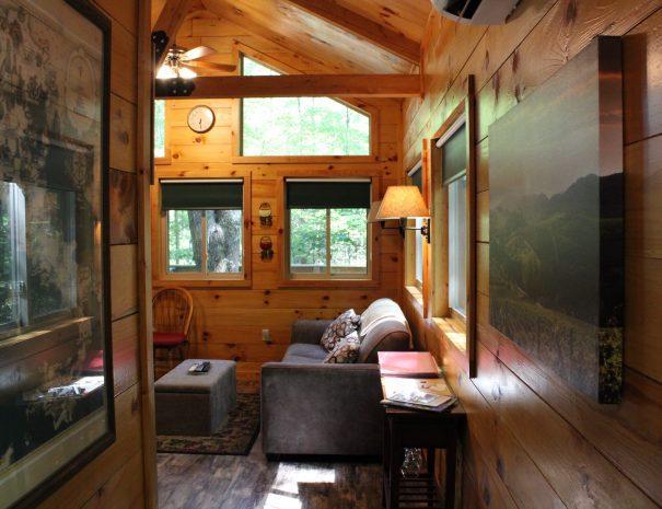 Tuscany Tree House Cabin Sofa