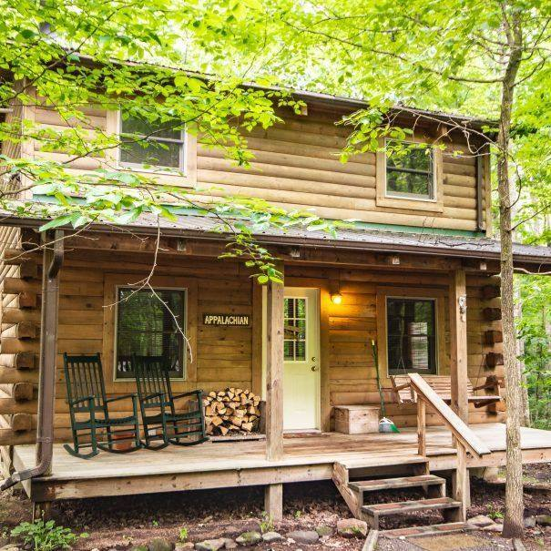 Appalachian Cabin Outside