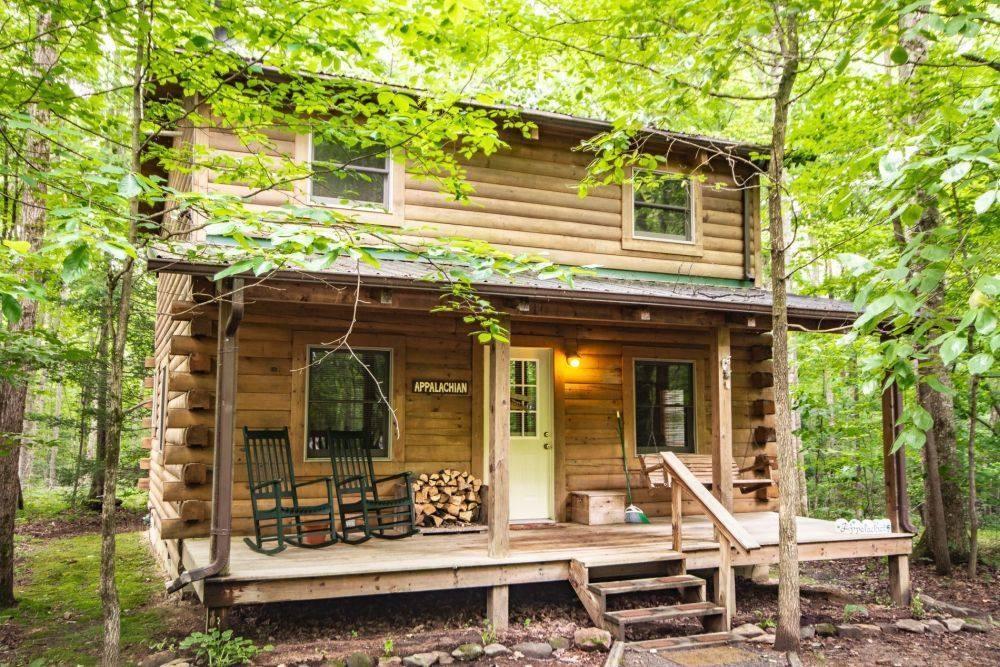 Appalachian Cabin Outside