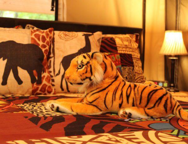 Safari Sun Tiger Plushie