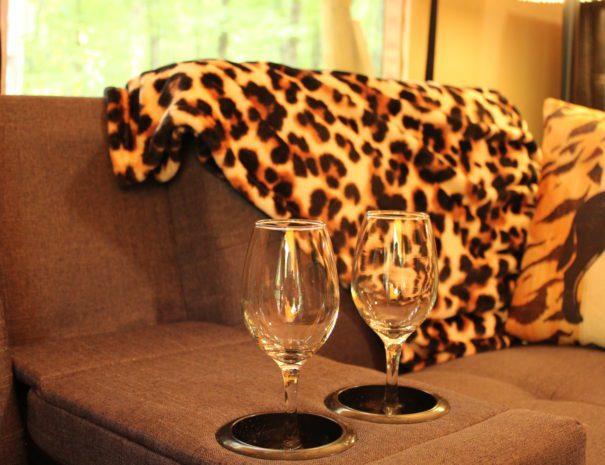 Safari Sun Champagne Glasses