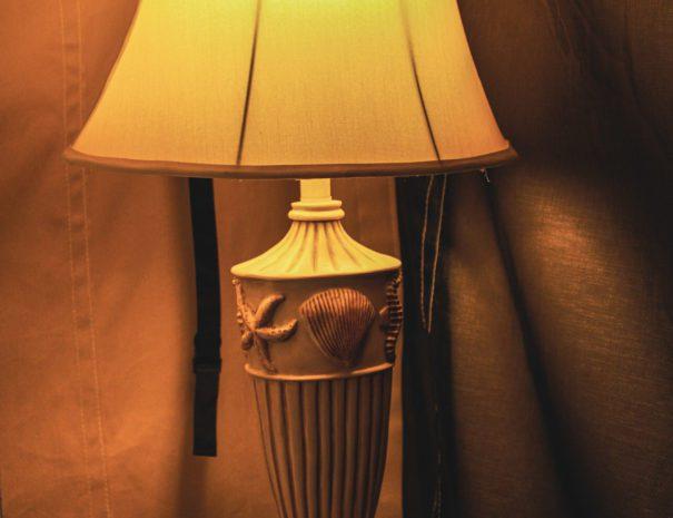 Tropical Sun Shell Lamp