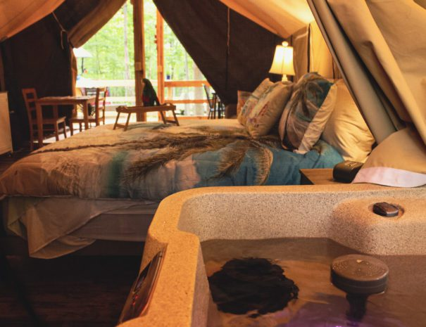 Tropical Sun Hot Tub & Bed