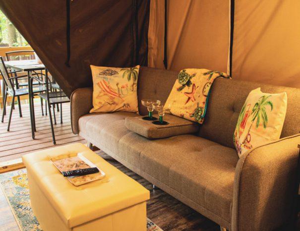 Tropical Sun Sofa Bed